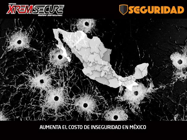 AUMENTA EL COSTO DE INSEGURIDAD EN MÉXICO