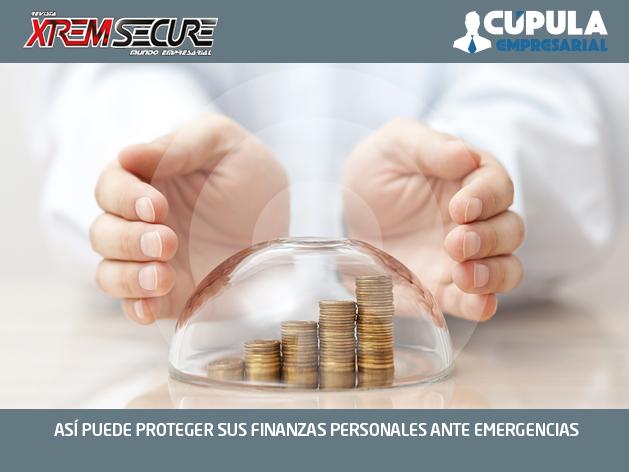 ASÍ PUEDE PROTEGER SUS FINANZAS PERSONALES ANTE EMERGENCIAS